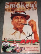 Smokey Yunick ARP Smokey Illustration Poster