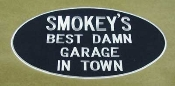 Smokey Yunick's Best Damn Garage in Town Logo Patch